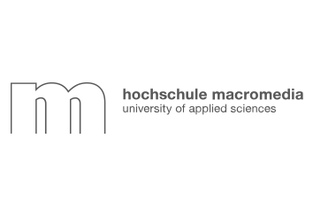 Logo der Hochschule Macromedia, University of Applied Sciences